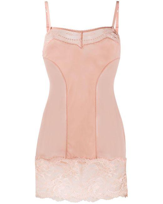 La Perla Brigitta スリップドレス Pink