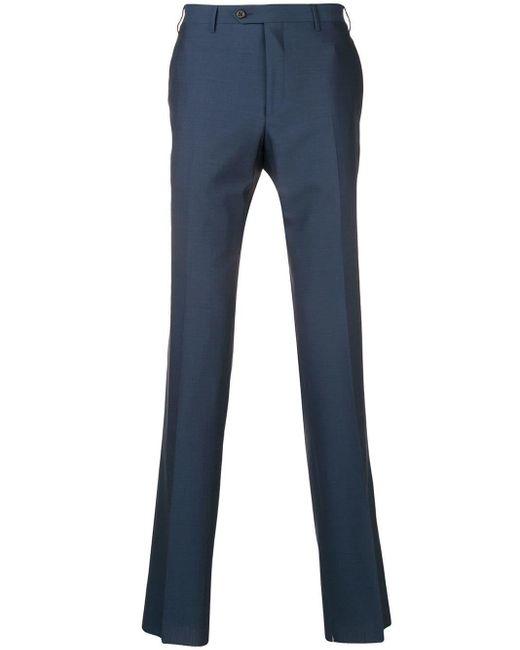 メンズ Corneliani テーラード ストレートパンツ Blue