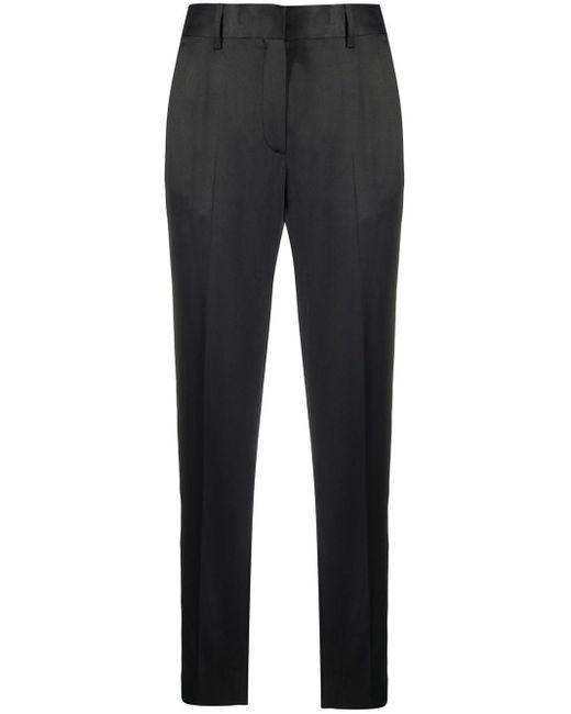 Pantaloni a vita alta di MM6 by Maison Martin Margiela in Black