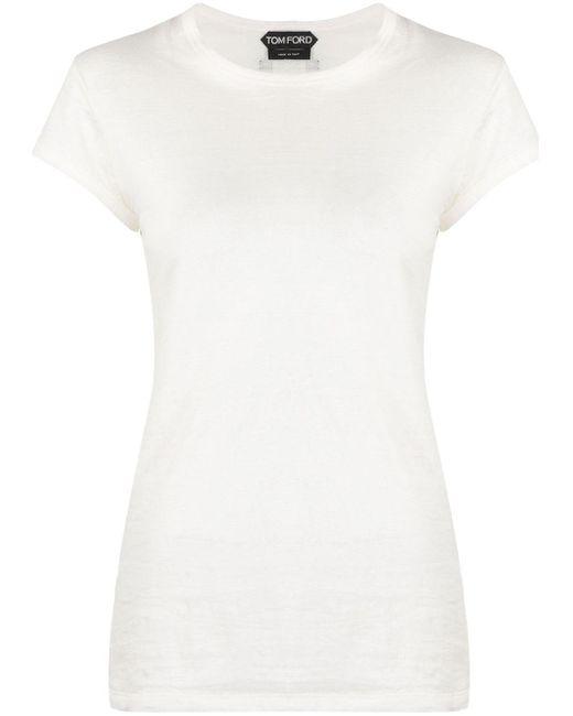 Tom Ford キャップスリーブ Tシャツ White