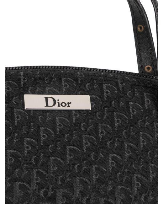Dior プレオウンド トロッター ハンドバッグ Black