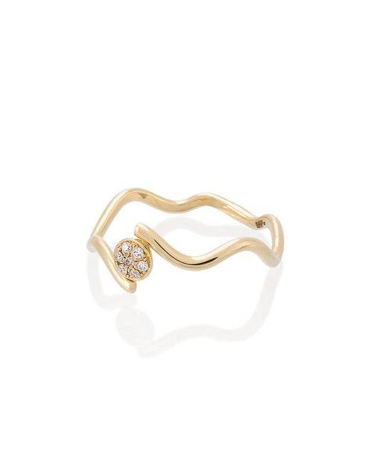Sabine G - Metallic Wiggly Love Ring - Lyst