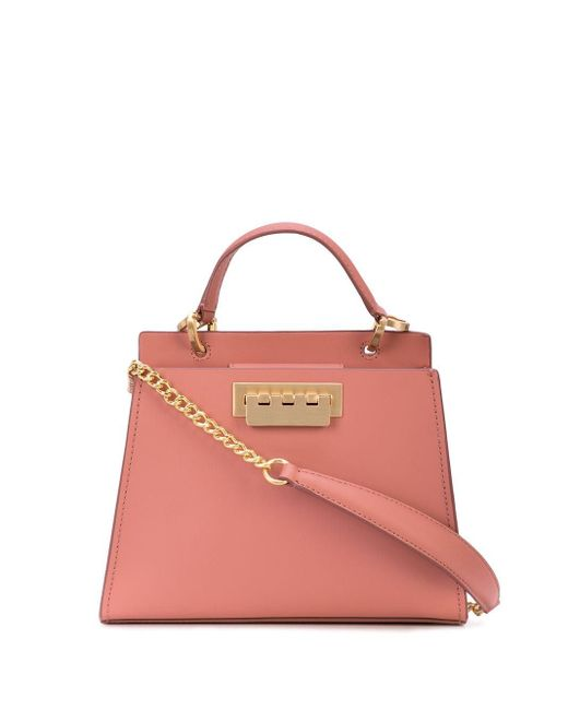 Zac Zac Posen Earthette Double Compartment バッグ Pink