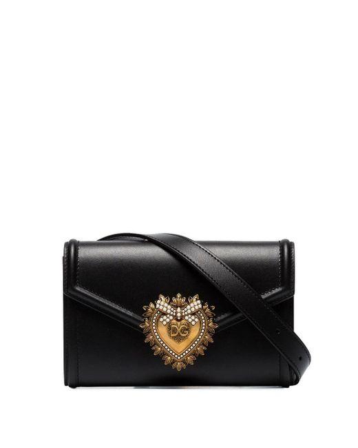 Dolce & Gabbana Devotion ベルトバッグ Black