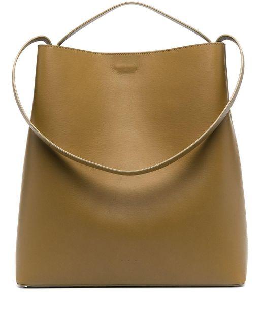 Aesther Ekme Green Sac Handtasche