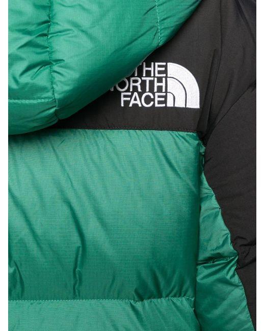 メンズ The North Face バイカラー パデッドジャケット Green