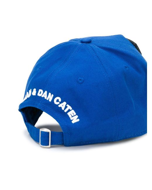 Бейсболка С Нашивкой-логотипом DSquared² для него, цвет: Blue