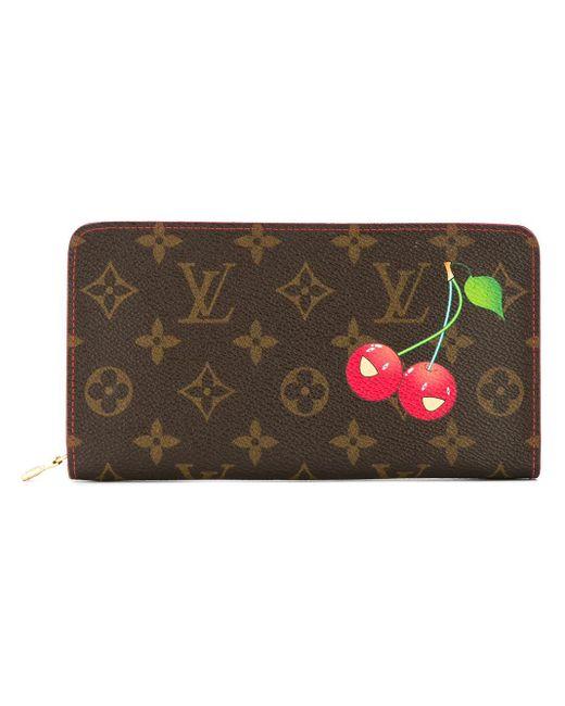 Louis Vuitton Porte Monnaie ファスナー長財布 Multicolor