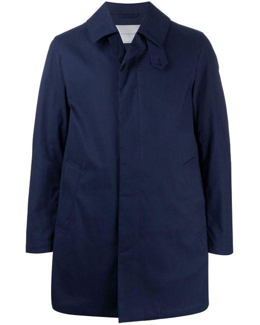 メンズ Mackintosh Dunoon シングルコート Blue