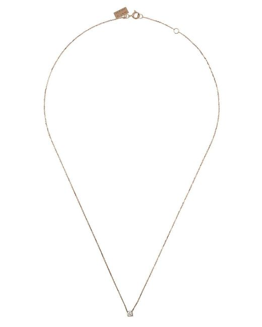 Vanrycke Valentine ダイヤモンド ネックレス 18kローズゴールド Metallic