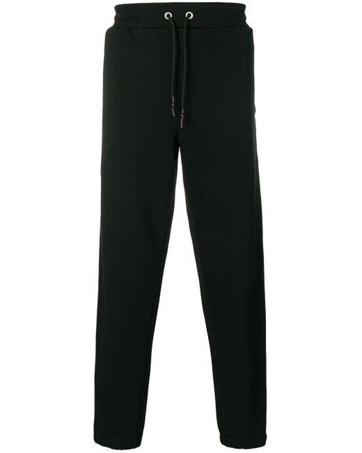 メンズ McQ Alexander McQueen サイド ロゴ トラックパンツ Black