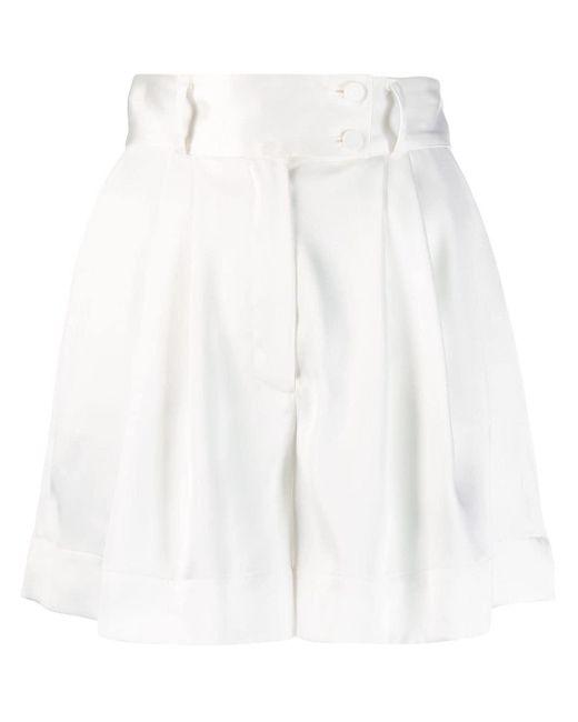 Styland ワイドショートパンツ White