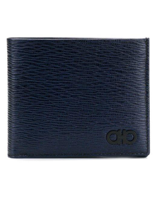 メンズ Ferragamo ガンチーニ財布 Blue