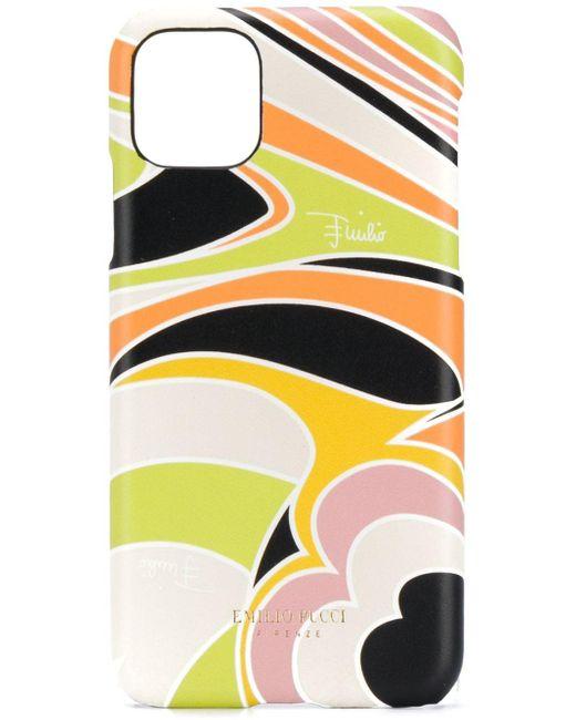Чехол Для Iphone 11 Pro Max С Принтом Quirimbas Emilio Pucci, цвет: Multicolor