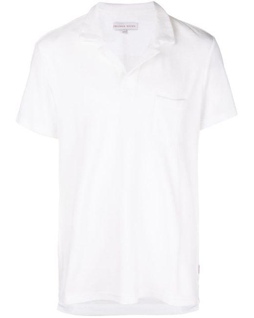 メンズ Orlebar Brown オープンカラーポロシャツ White