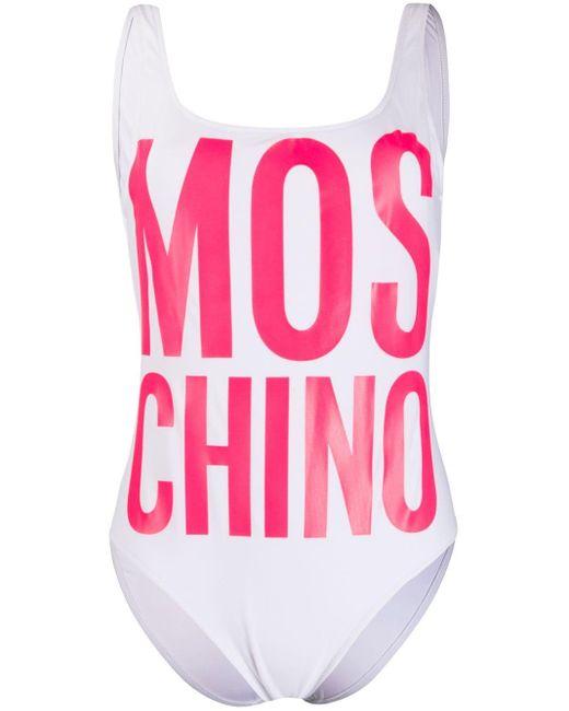 Moschino プリント水着 White