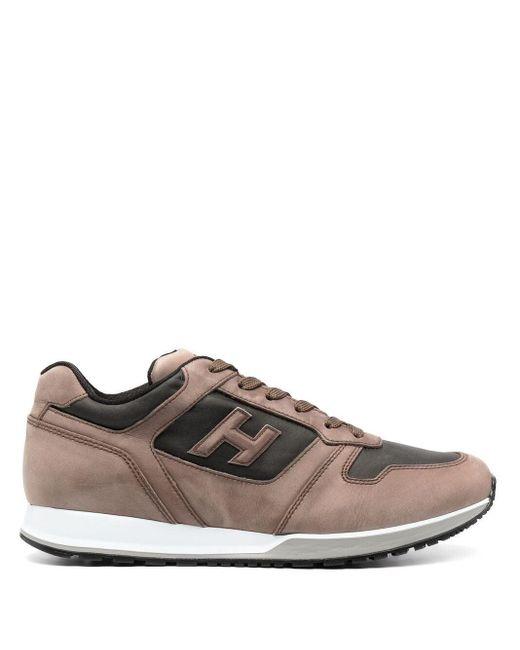 Hogan H383 Sneakers in Brown für Herren