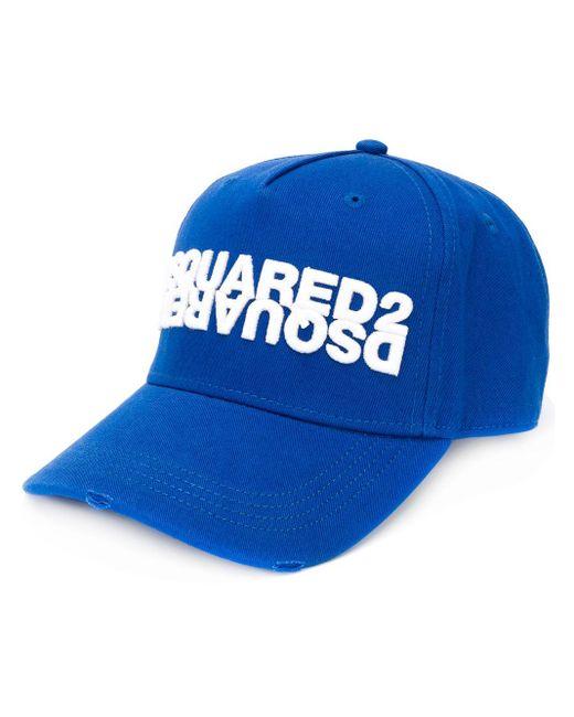 Бейсболка С Вышитым Логотипом DSquared² для него, цвет: Blue