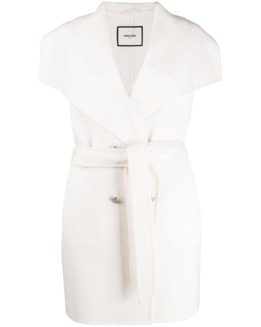 Max & Moi オーバーサイズ コート White