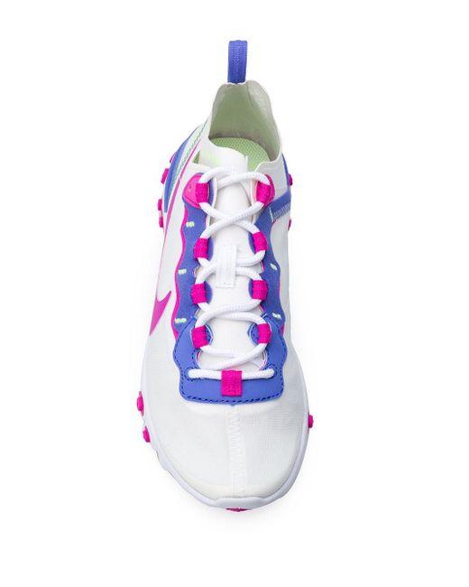 Nike React Element 55 スニーカー White