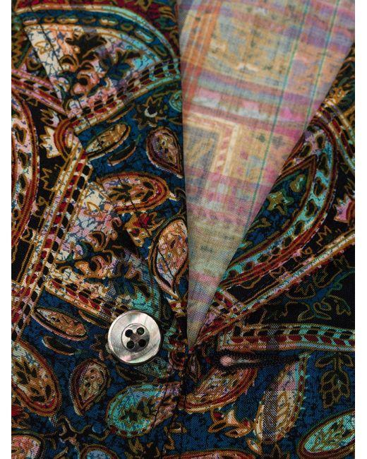 メンズ Beams Plus ペイズリー ジャケット Multicolor