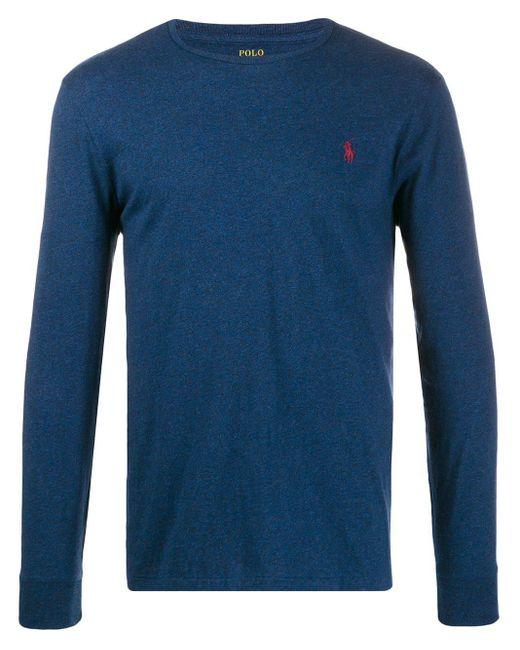 メンズ Polo Ralph Lauren ロゴ スウェットシャツ Blue