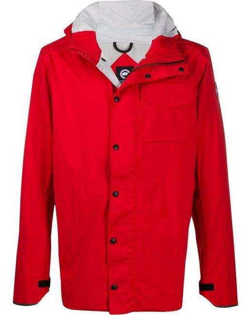 メンズ Canada Goose スナップボタン ジャケット Red