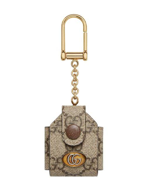 Gucci オフィディア GG Airpods ケース Metallic