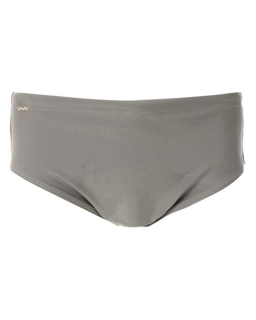 Slip de bain classique Amir Slama pour homme en coloris Gray