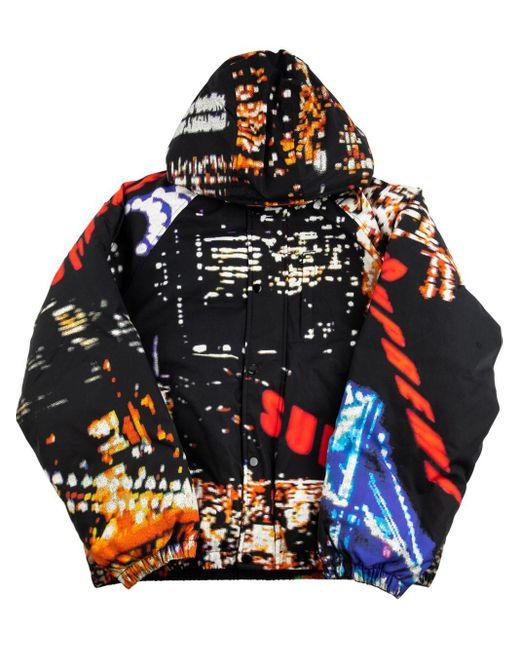 メンズ Supreme City Lights パデッドジャケット Black