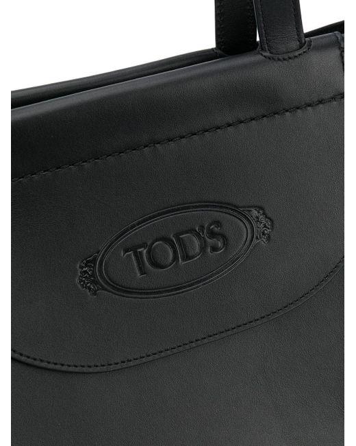 Tod's ロゴ ハンドバッグ Black