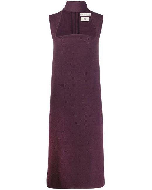 Bottega Veneta カットアウト ドレス Purple