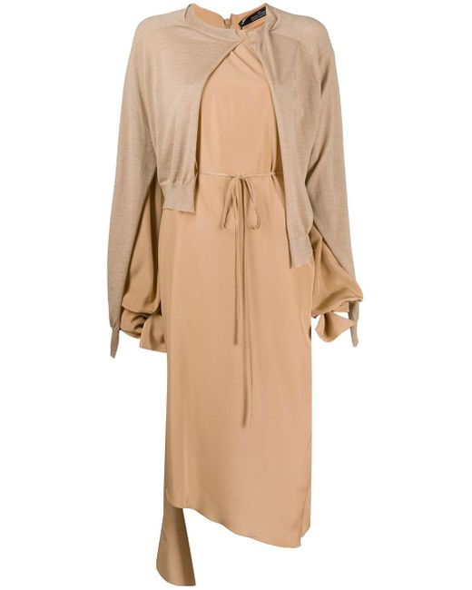 ROKH レイヤード ドレス Natural