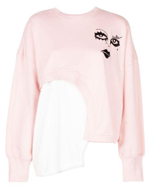 Haculla Witch Hybrid スウェットシャツ Pink