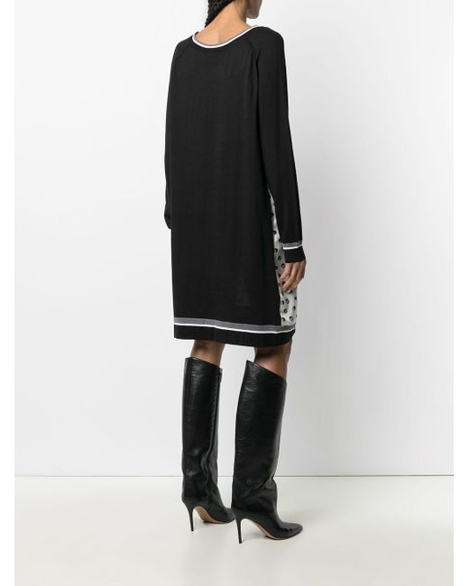 Hermès プレオウンド パネル ドレス Black