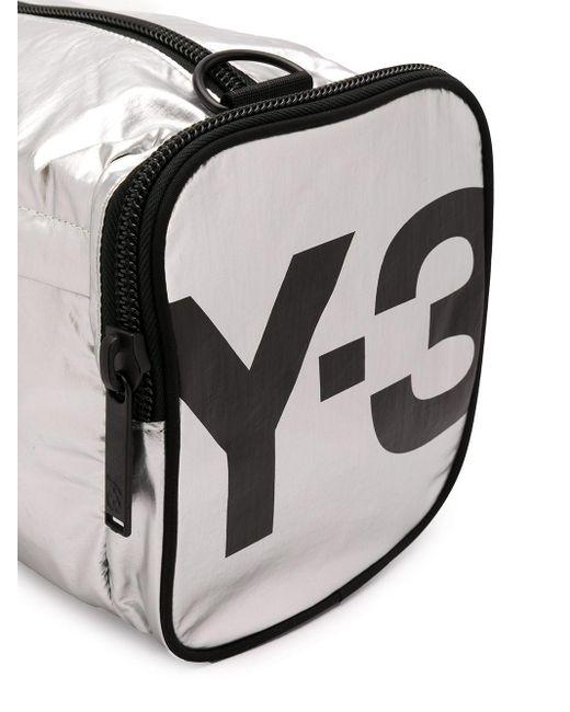 Y-3 ロゴプリント バッグ Metallic