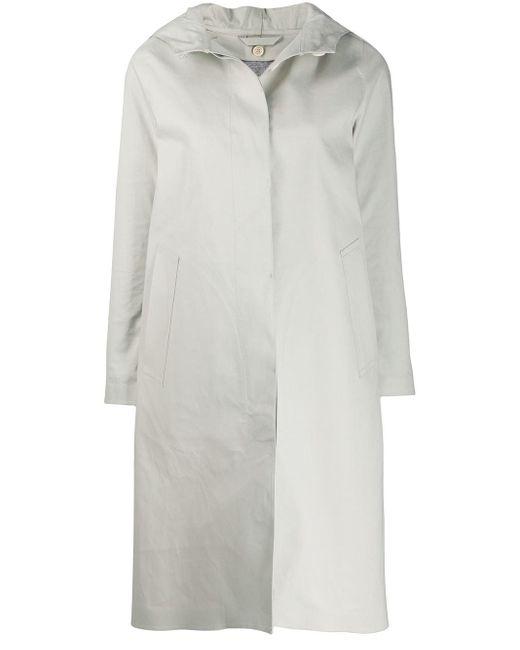 Mackintosh Chryston フーデッド シングルコート Multicolor