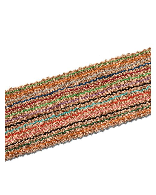 Плетеный Браслет В Полоску Из Желтого И Розового Золота Carolina Bucci, цвет: Metallic