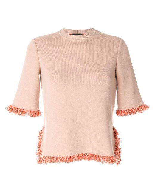 Giorgio Armani Half-sleeve Jumper Pink