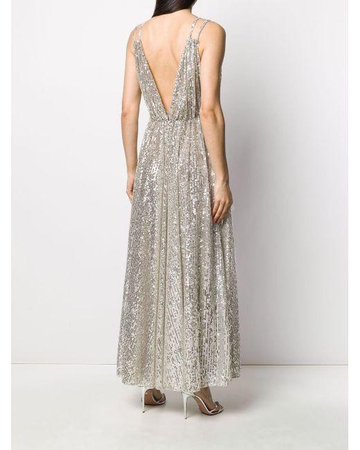 Amen スパンコール ドレス Multicolor