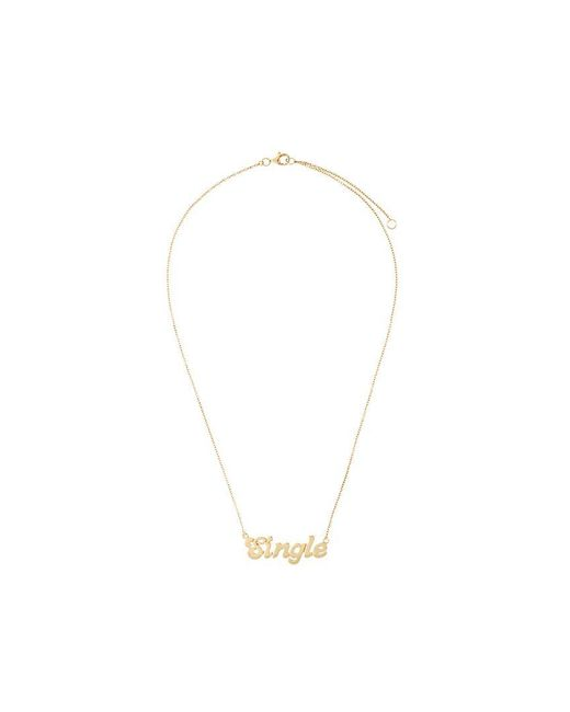 True Rocks - Metallic 'single' Necklace - Lyst