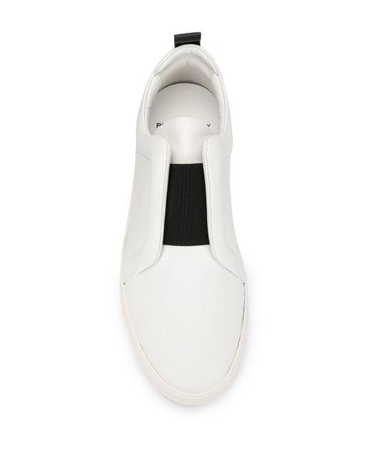 メンズ Pierre Hardy ローカットスニーカー White