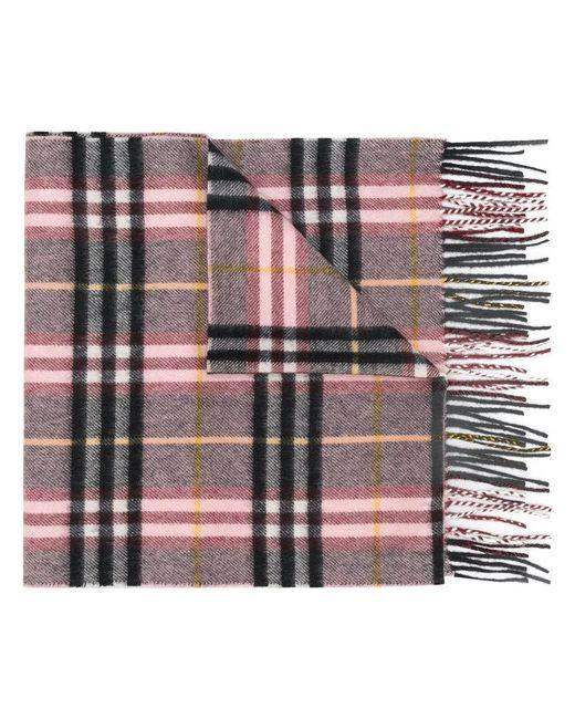 Burberry - Multicolor Cashmere Check Scarf - Lyst