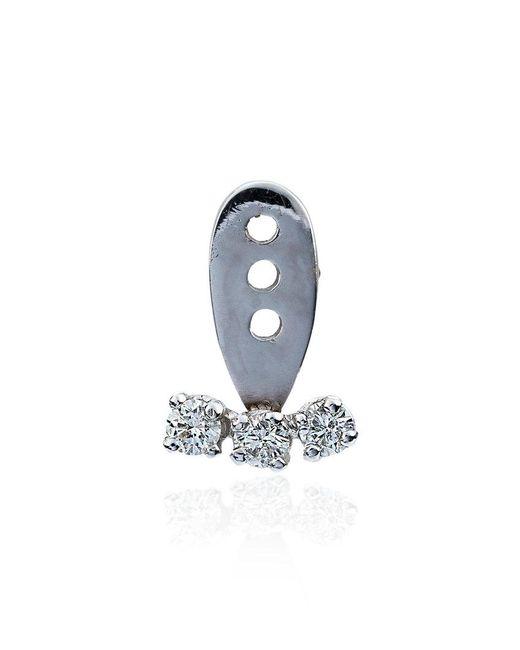Yvonne Léon - Metallic Diamond And Pearl Earcuff - Lyst
