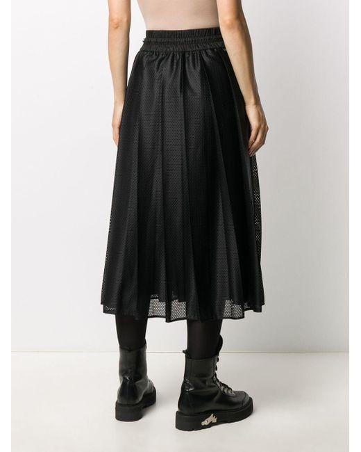Moncler メッシュ スカート Black