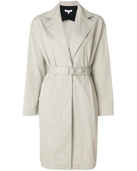 IRO - Natural Belted Trench Coat - Lyst