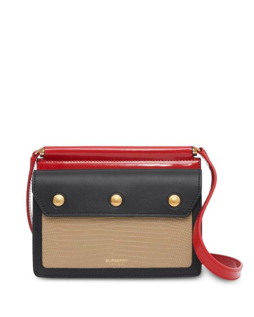 Burberry Brown Mini Panelled Bag