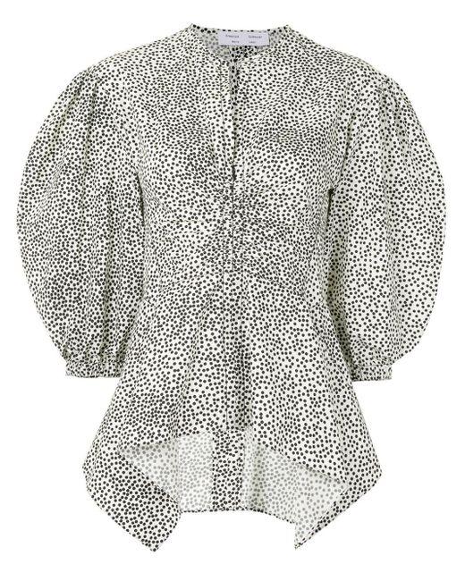 Блузка С Баской PROENZA SCHOULER WHITE LABEL, цвет: White