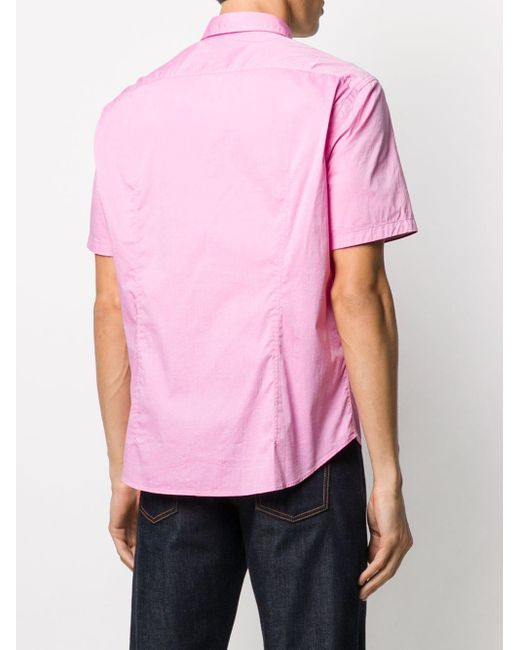 メンズ BOSS by Hugo Boss ボタンダウン シャツ Pink