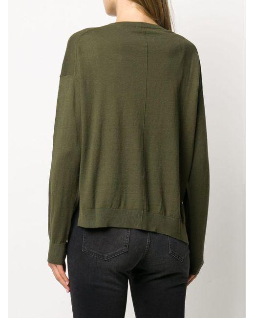 Jersey con cuello redondo Closed de color Green